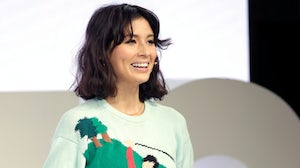 Jasmine Hemsley speaks on stage during BoF VOICES | Source: Getty Images for The Business of Fashion