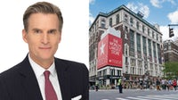 Chief executive Jeff Gennette and Macy's Herald Square flagship store in New York | Source: Courtesy and Shutterstock