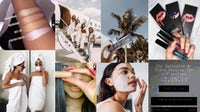Beauty Instagram marketing | Source: Instagram (Kylie Cosmetics, Summer Fridays, Fenty Beauty, Pat McGrath Labs); collage by BoF.