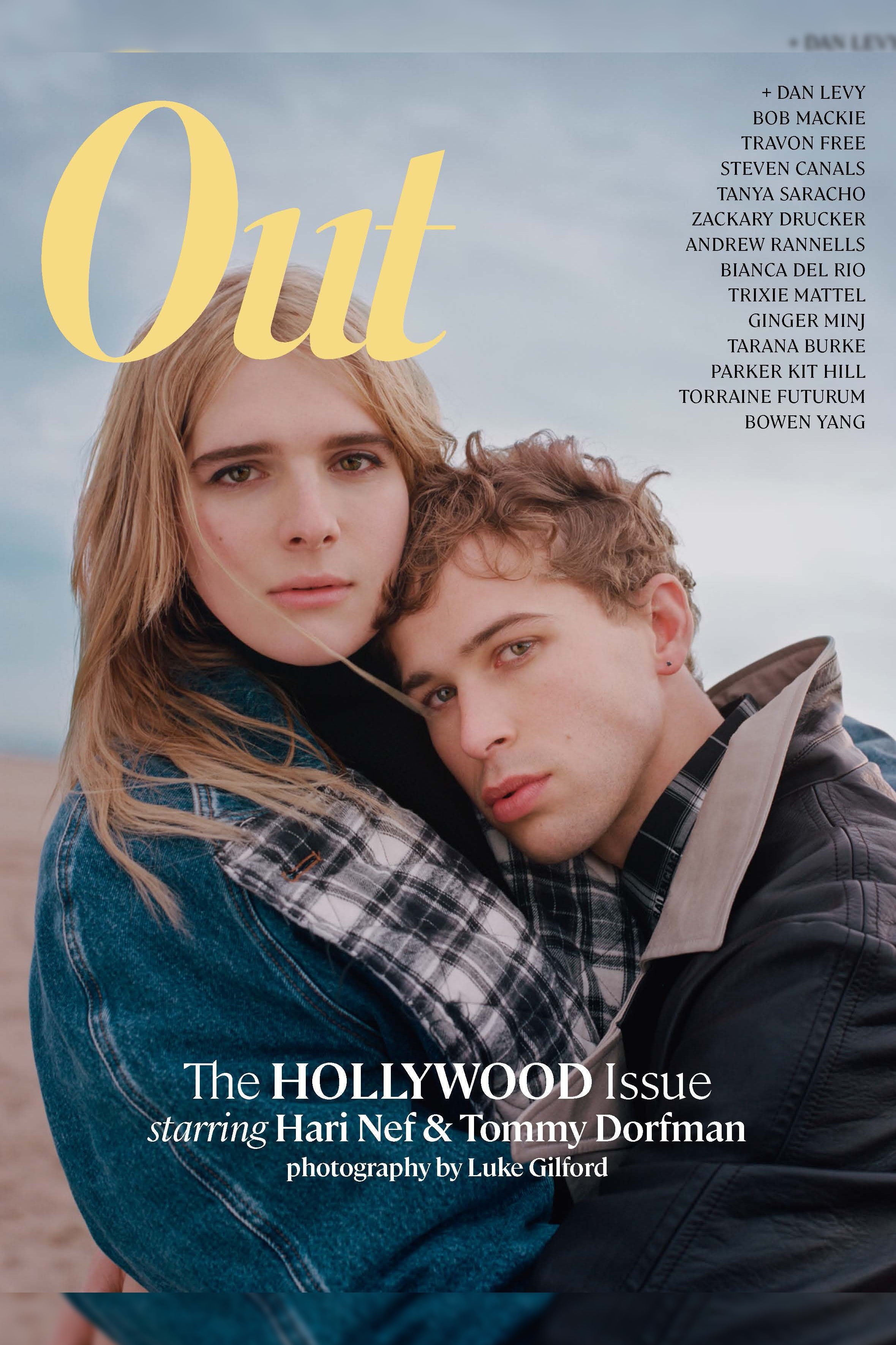 Out's February issue | Source: Courtesy