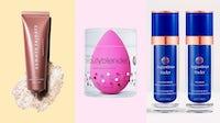 Summer Fridays R+R Mask, BeautyBlender and Augustinus Bader | Source: Courtesy