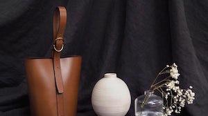 Trademark bucket bag    Source: Instagram