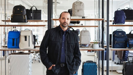 Victor Sanz, creative director of Tumi