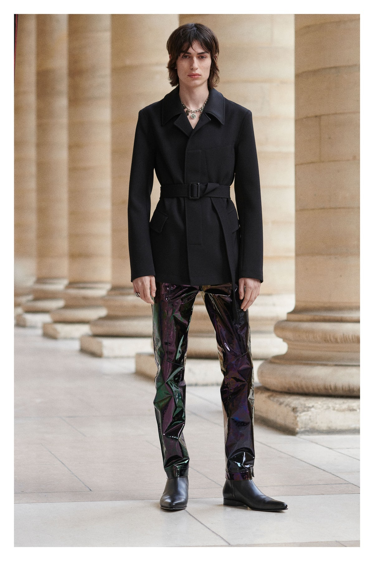 Menswear Gets a Platform at Givenchy