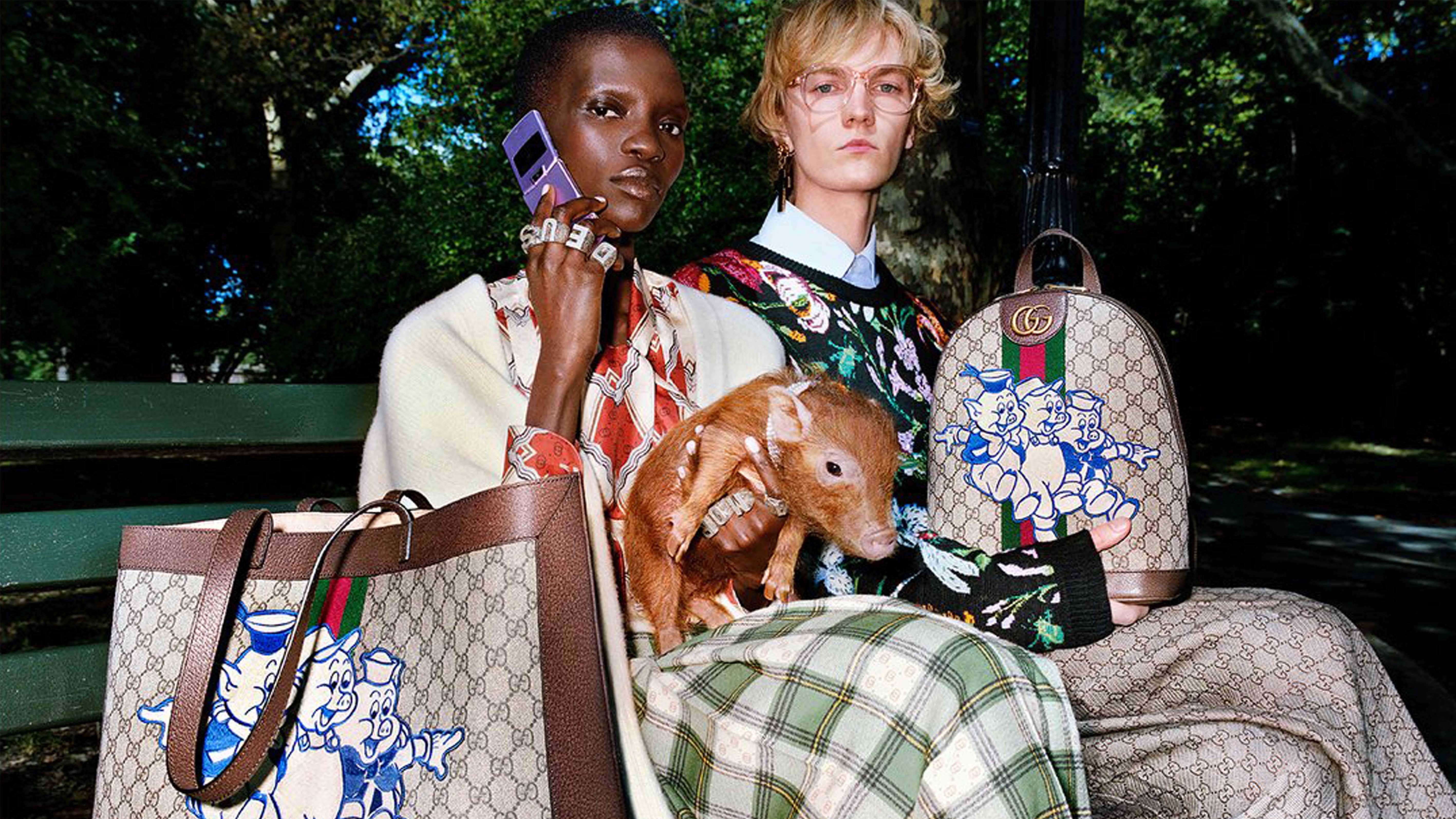 Gucci's Year of the Pig campaign | Source: Gucci