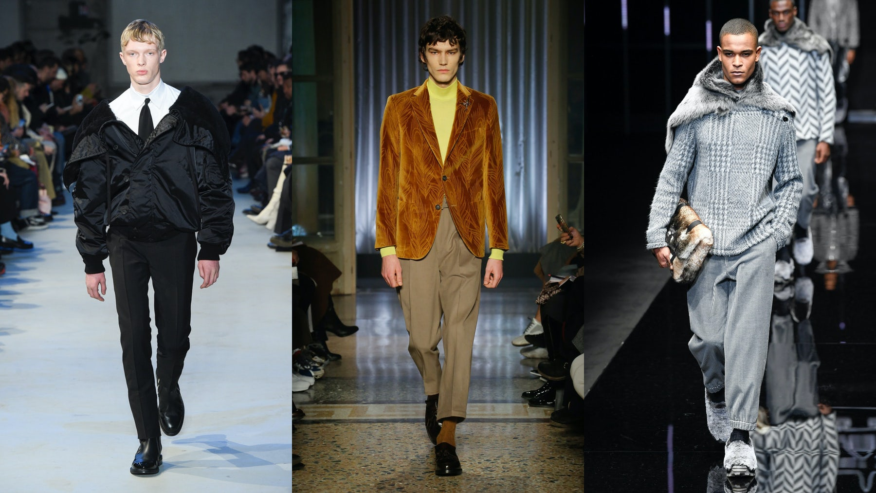 No. 21, Pal Zileri and Emporio Armani Autumn/Winter 2019 | Source: InDigital