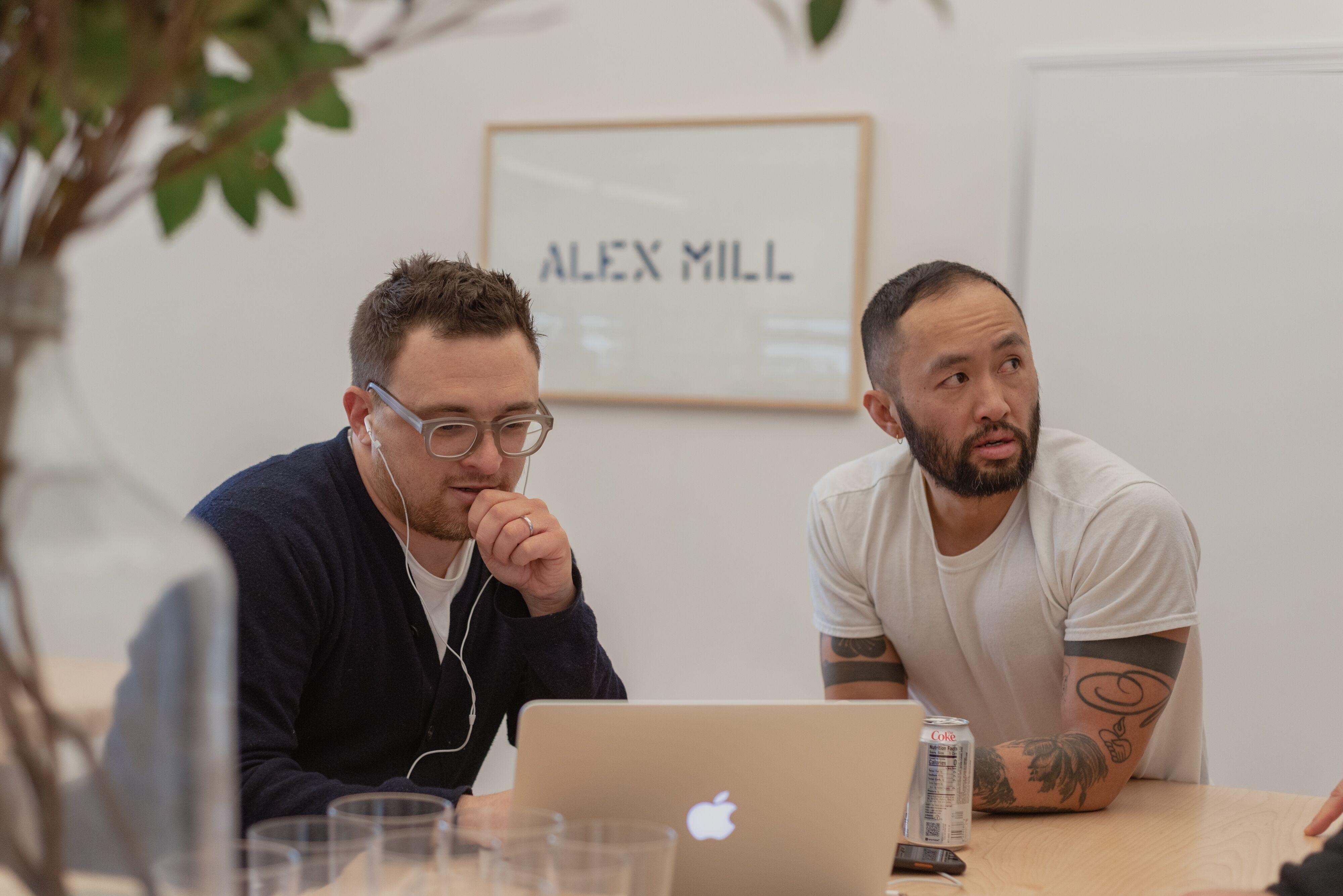 Alex Drexler and Somsack Sikhounmuong | Photo: Grant Legan, Courtesy of Alex Mill