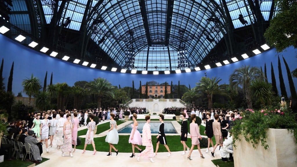 Chanel 2019 Spring/Summer couture show at the Grand Palais in Paris | Source: Getty