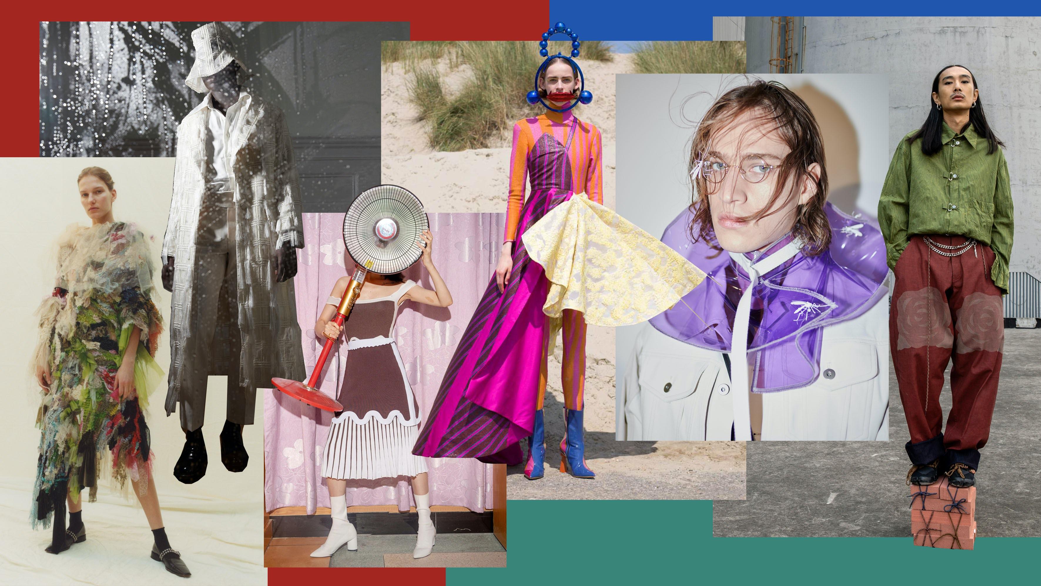 Images from BoF China Priza Finalists Caroline Hu, Xu Zhi, PH5, Shuting Qiu, Staffonly, Pronounce | Collage by BoF