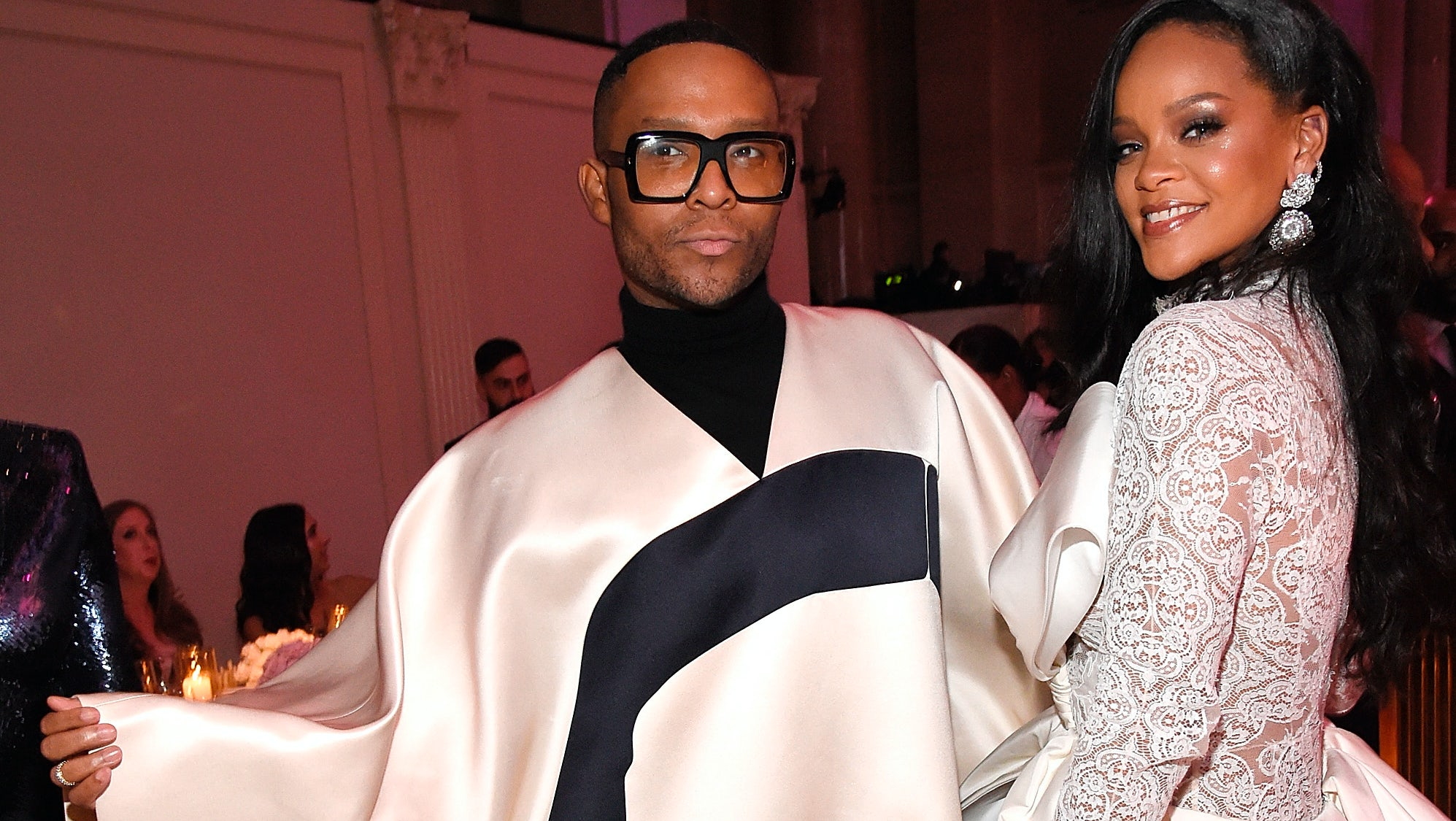 Law Roach and Rihanna attend Rihanna's 4th Annual Diamond Ball benefitting The Clara Lionel Foundation at Cipriani Wall Street on September 13, 2018 in New York City | Source: Getty Images
