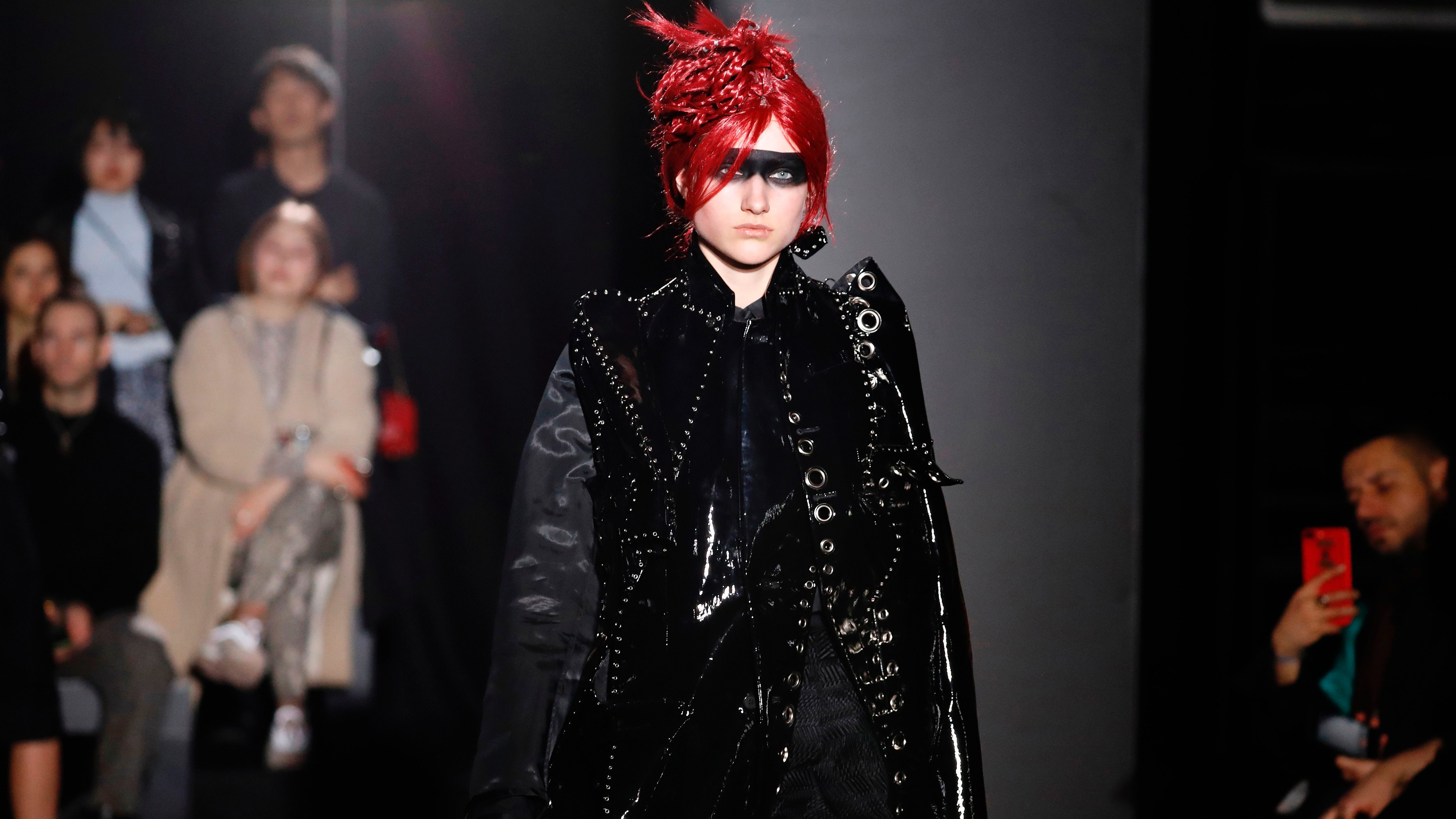 Playing With Extremes at Paris Fashion Week