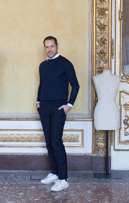 Massimiliano Giornetti, former undergraduate in Fashion Design at Polimoda