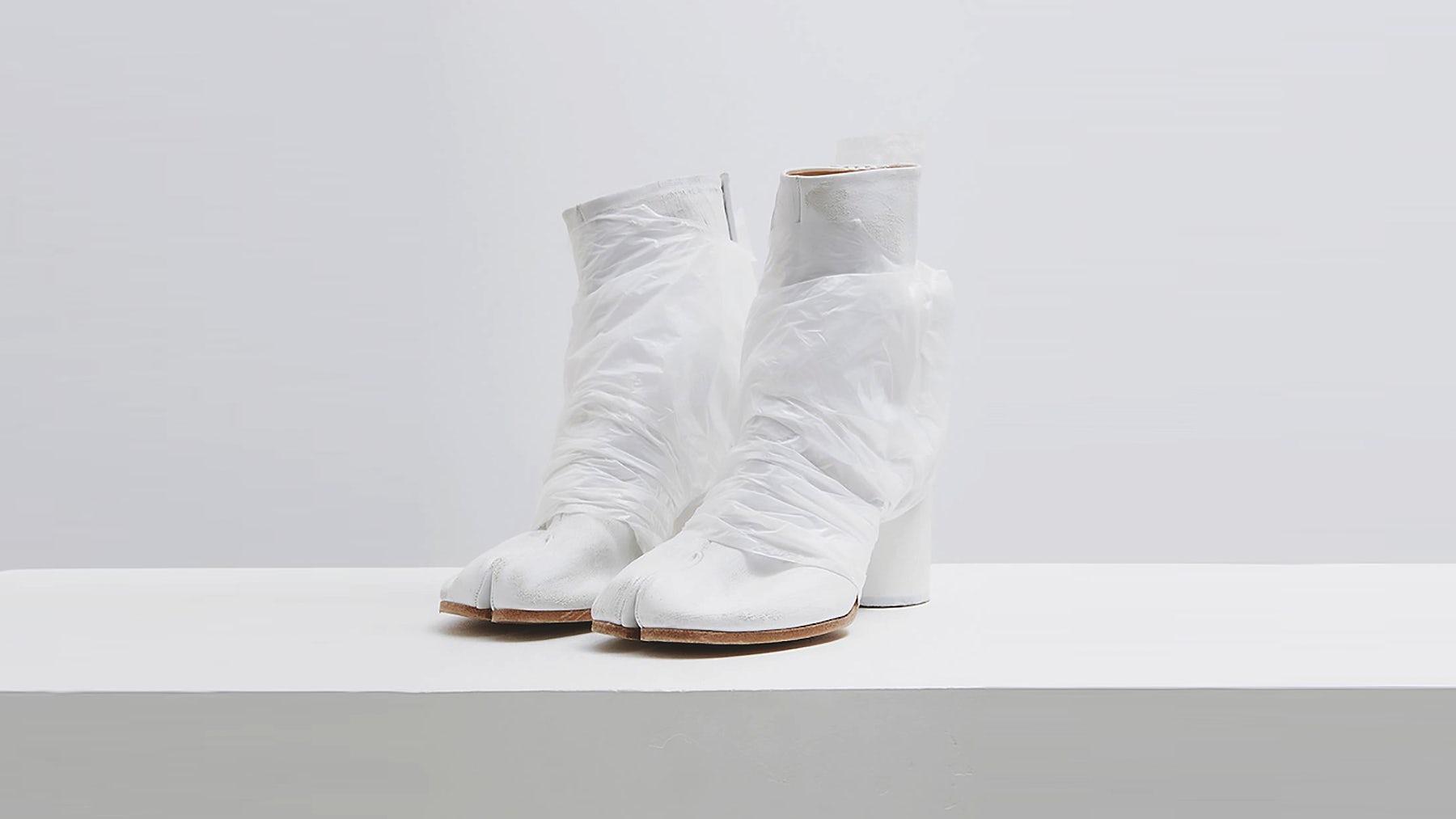 Margiela's Tabi shoes | Source: Instagram @MaisonMargiela