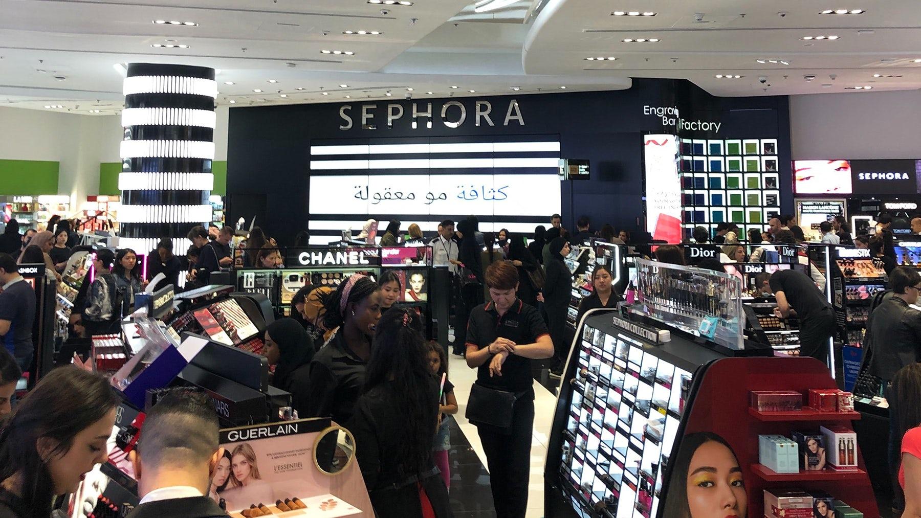 Sephora at the Dubai Mall | Photo by Rachel Strugatz