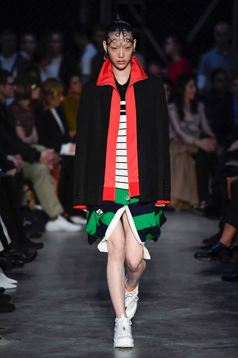 9c77665ae0ac Riccardo Tisci Builds His Own World at Burberry