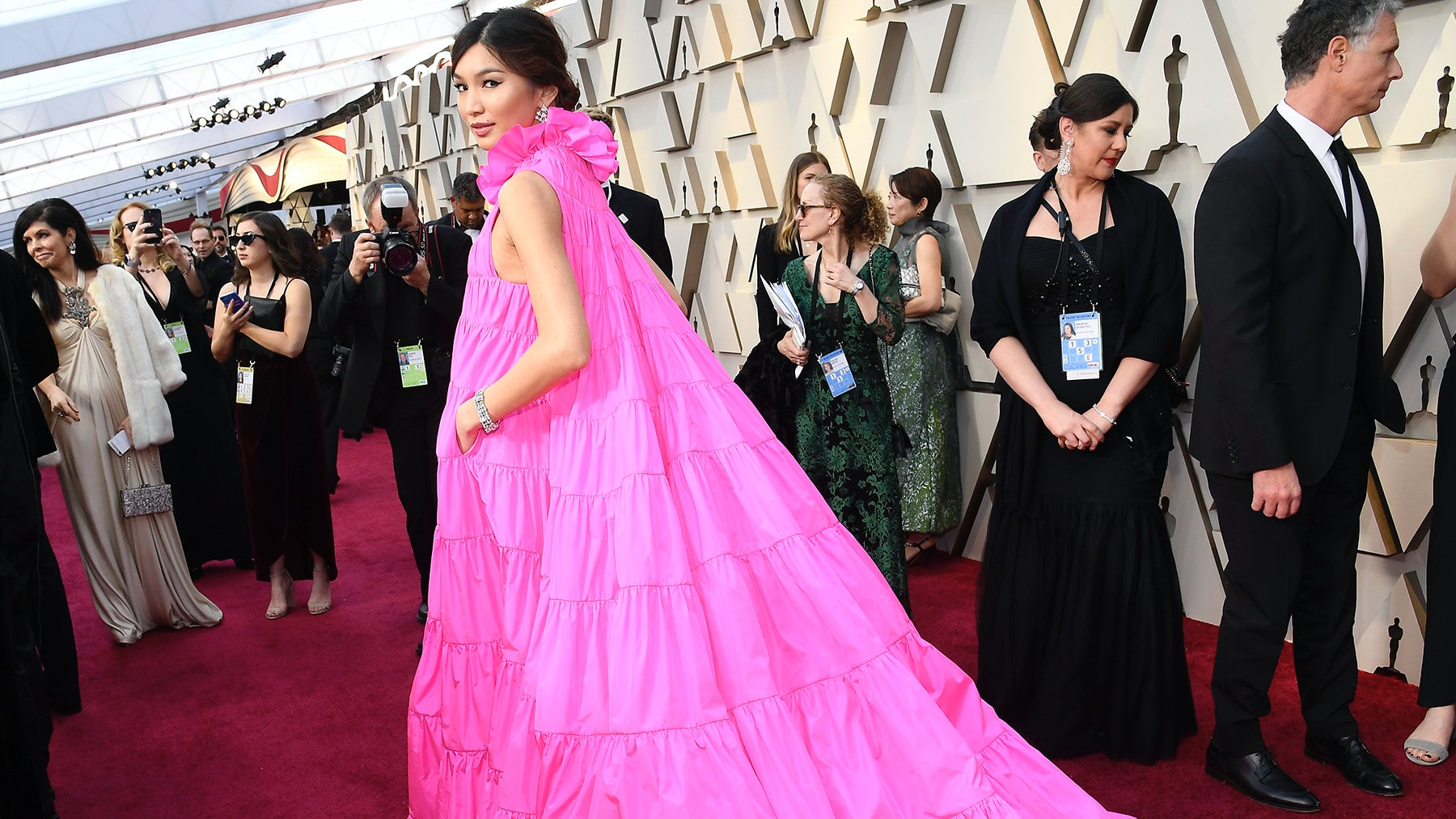 Gemma Chan at the 2019 Oscars | Source: Getty