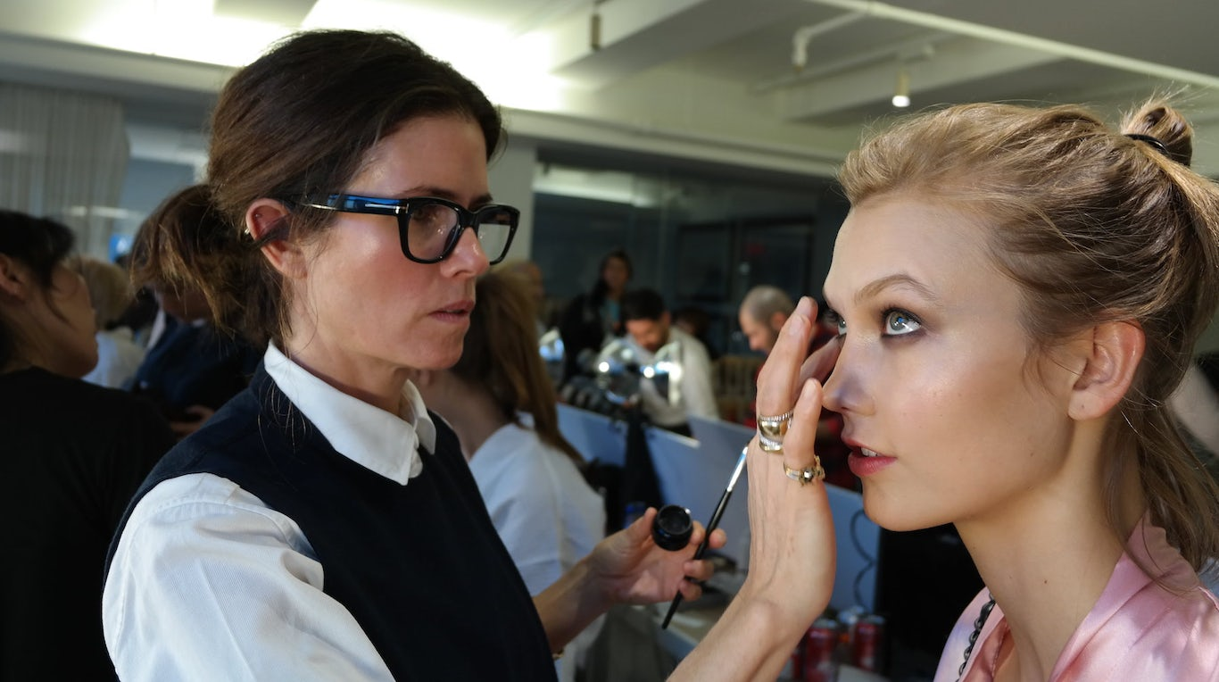 At Fashion Week, Reinventing Backstage Beauty
