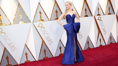 Nicole Kidman attends the 90th Annual Academy Awards in Hollywood