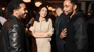 Andre Holland, Annie Parisse and Lakeith Stanfield attend the Rag & Bone event | Source: Courtesy