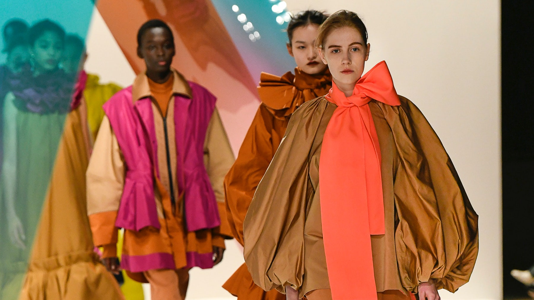 Roksanda Ilincic Autumn/Winter 2019 | Source: INDIGITAL.TV