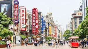 Shopping street Nanjing Road, Shanghai | Source: Shutterstock