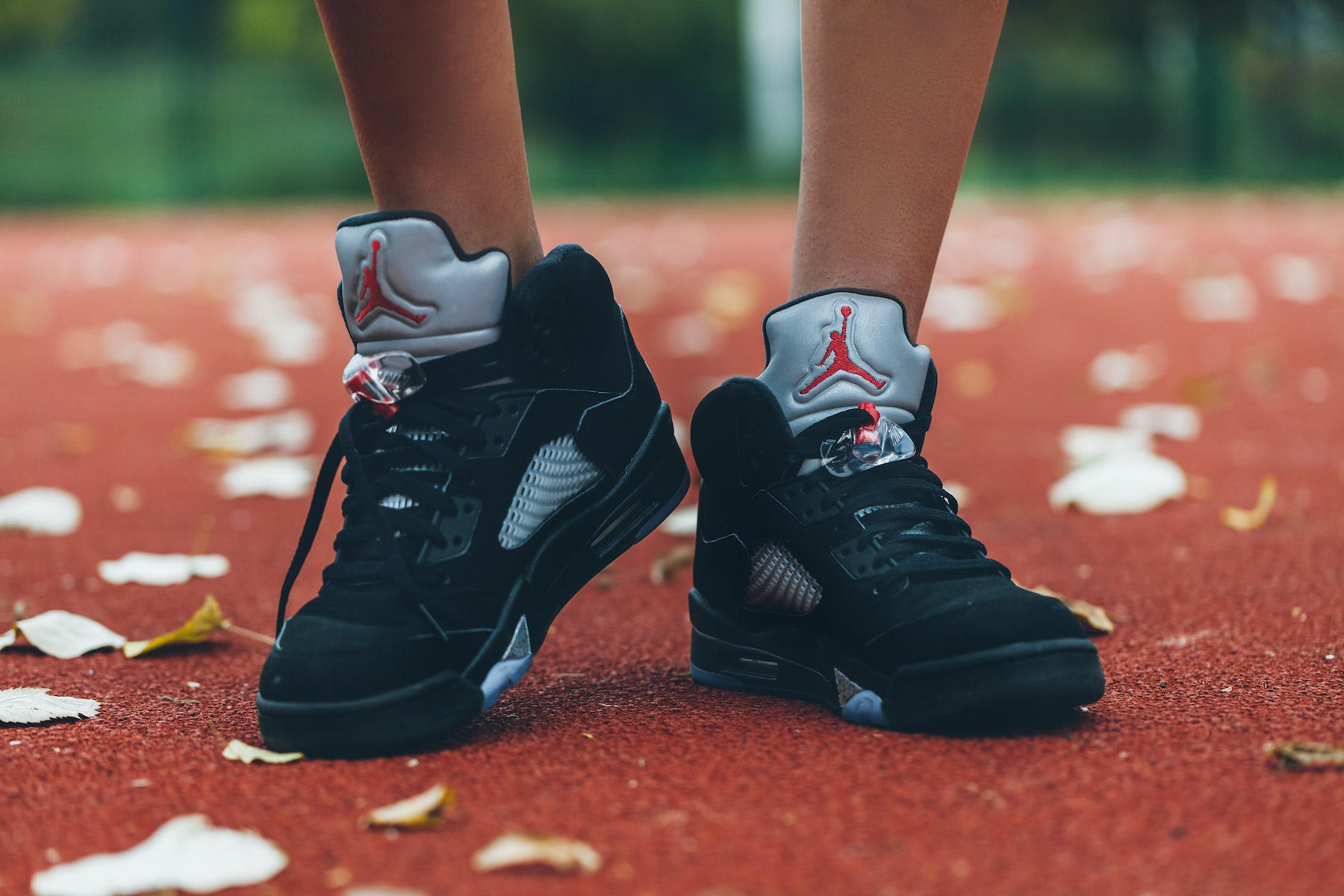 Nike Air Jordan 5 Basketball Shoes   Source: Shutterstock