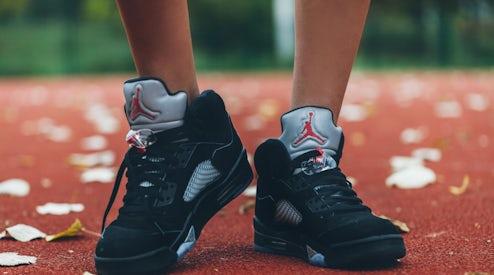 wholesale dealer 890f4 9b2d6 Nike Air Jordan 5 Basketball Shoes   Source  Shutterstock