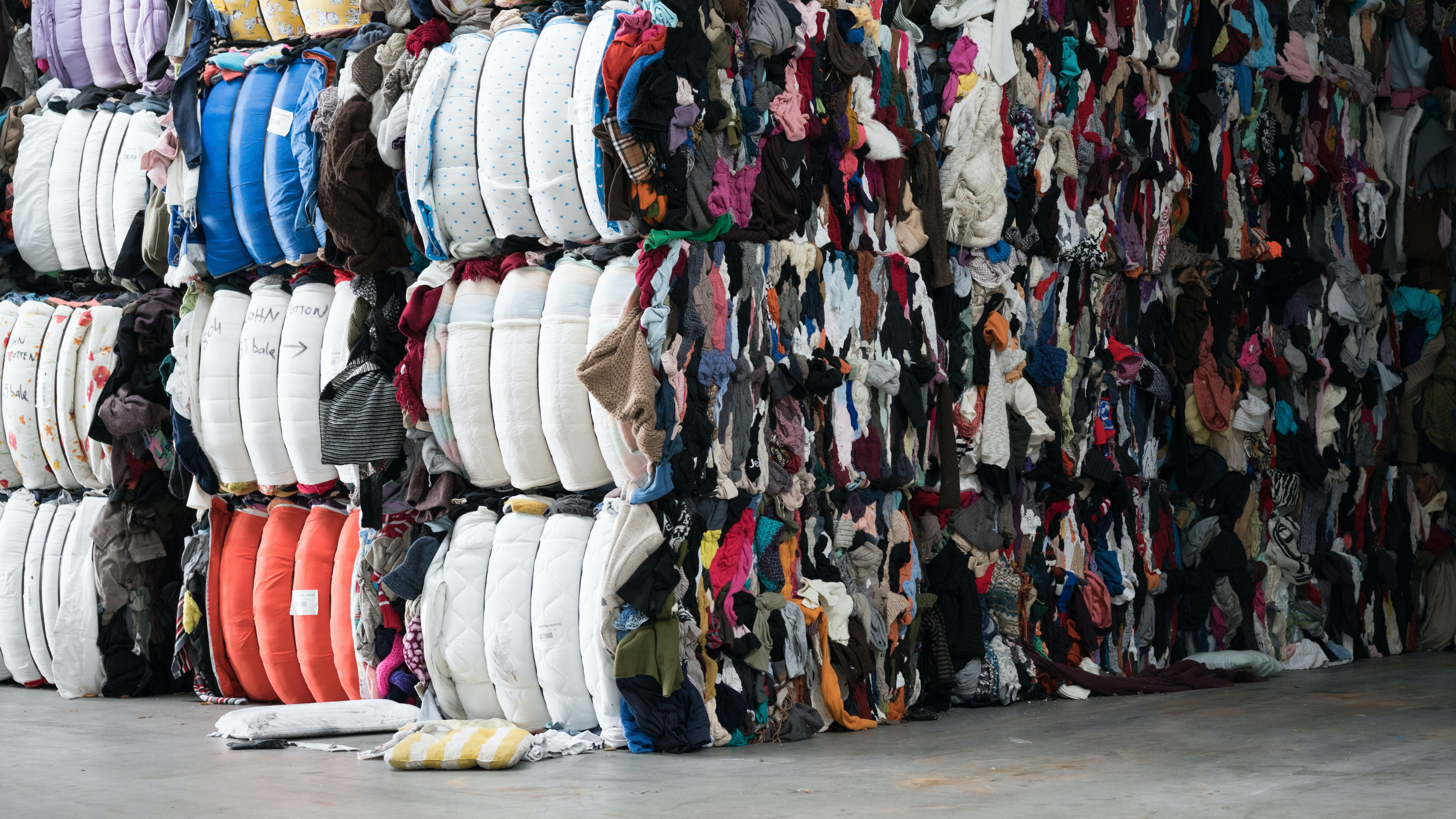 Used clothing ready for recycling | Source: Shutterstock
