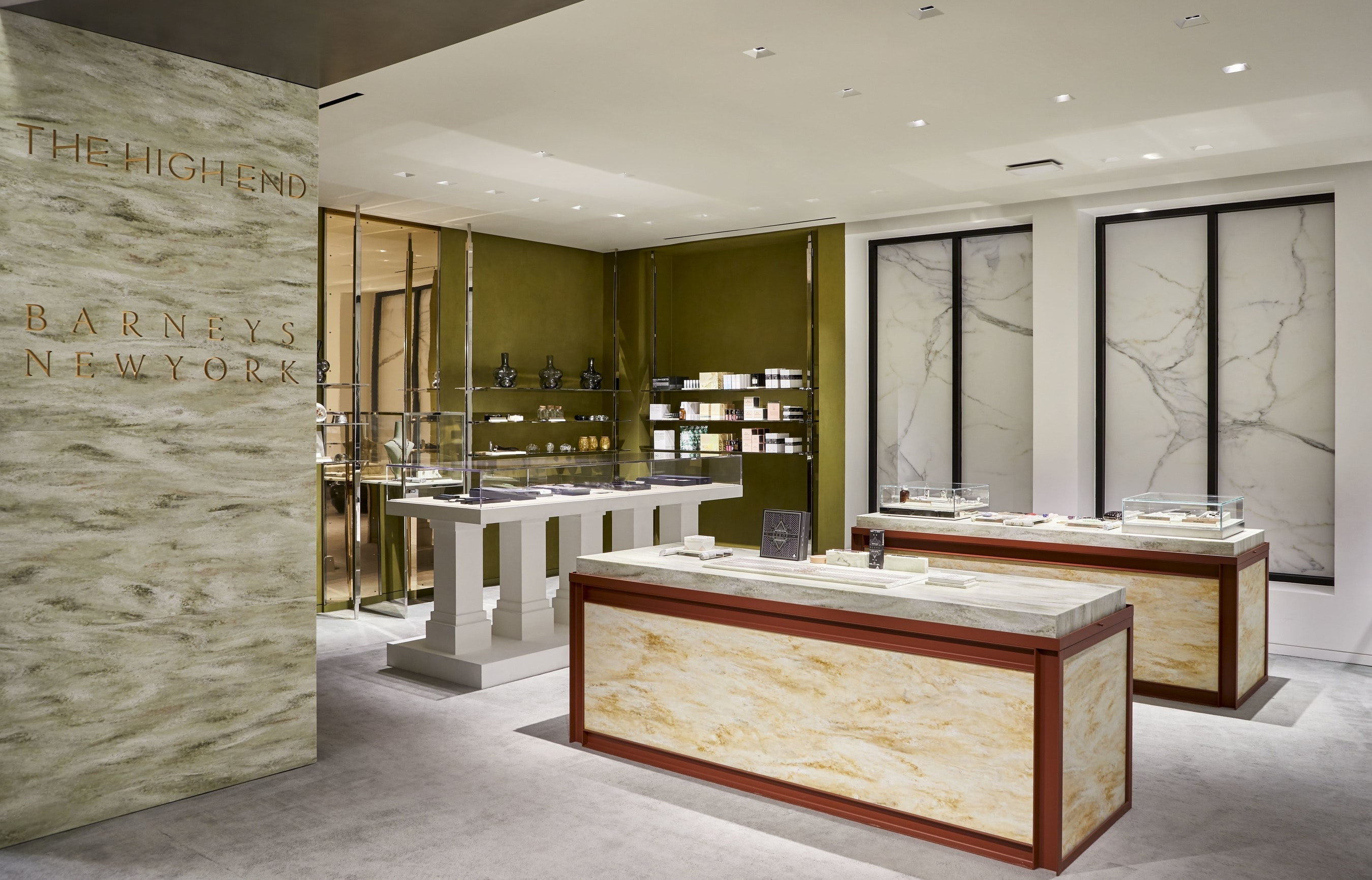 """Barneys New York opens """"The High End"""" luxury cannabis lifestyle shop 