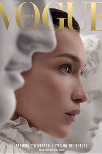 Vogue Greece featuring Bella Hadid on the cover  | Source: Instagram @VogueGreece