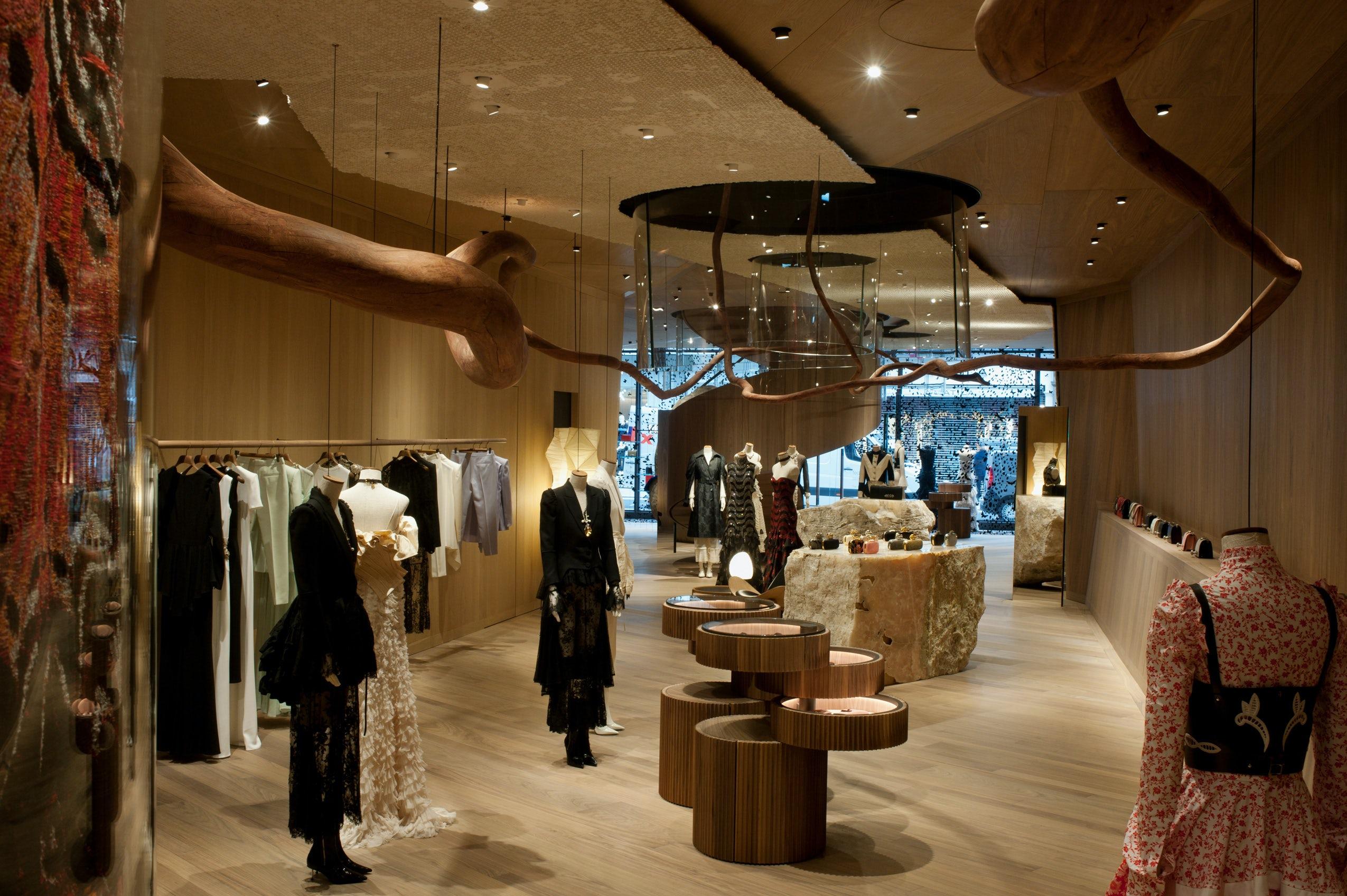 Alexander McQueen store in Bond Street, London