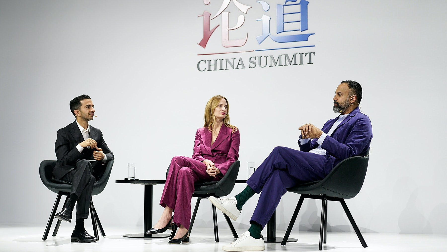 Imran Amed, founder and editor-in-chief of The Business of Fashion, Lauren Santo Domingo, co-founder and chief brand officer, Moda Operandi, Ganesh Srivats, chief executive, Moda Operandi | Source: Getty Images for The Business of Fashion