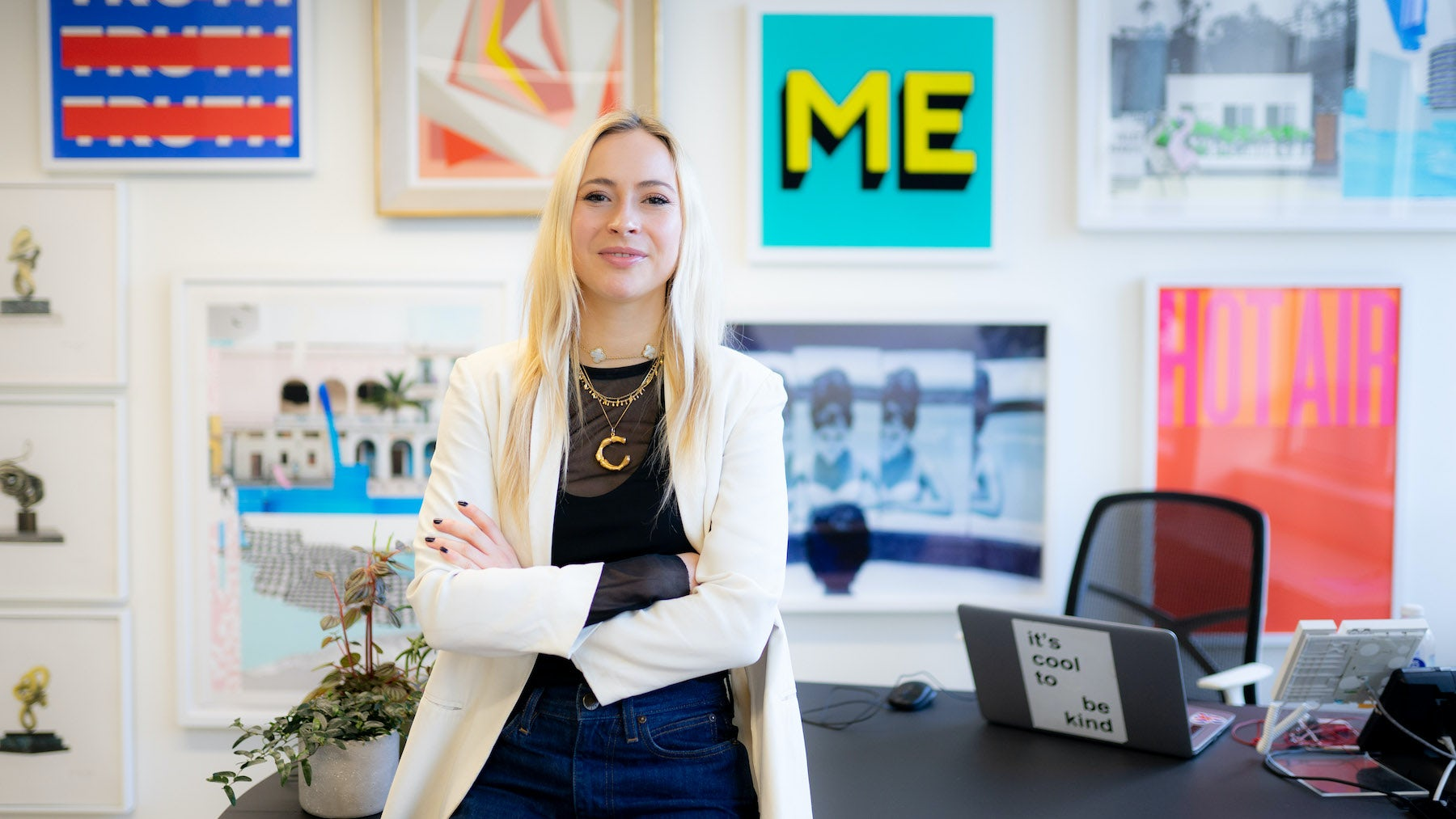 Catriona Macleod, accessories buying admin assistant at Browns | Source: Ed Walker for BoF