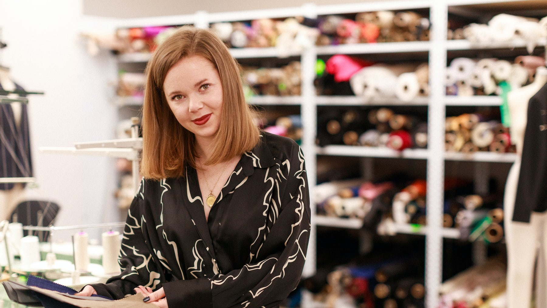 Elizabeth Whitehouse, menswear tailoring and outwear designer at Banana Republic | Source: Courtesy