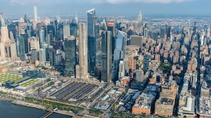 Hudson Yards Aerial View as of October 2018 | Source: Hudson Yards New York