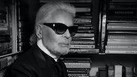 Karl Lagerfeld   Source: Courtesy