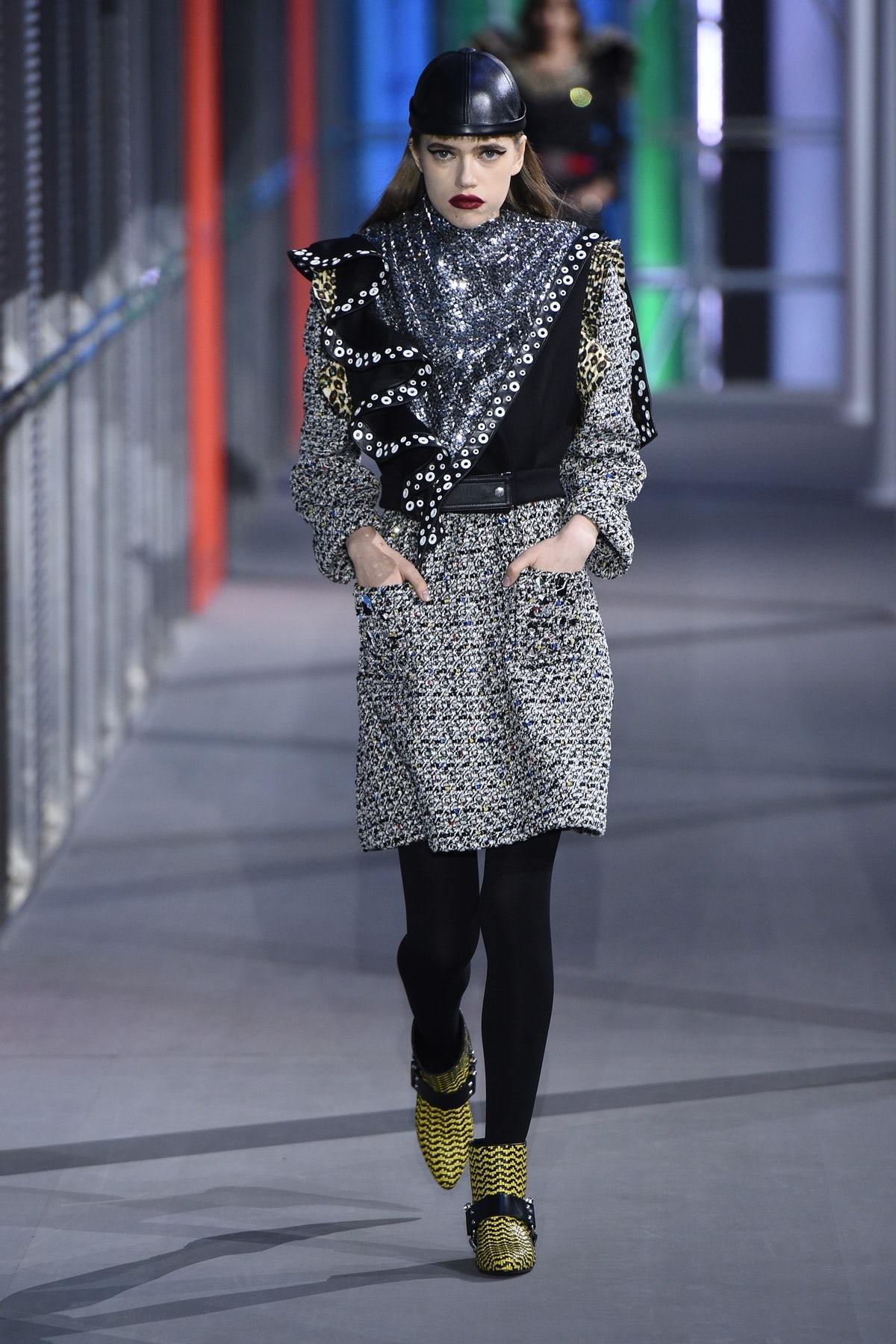 Tack and Techno at Louis Vuitton