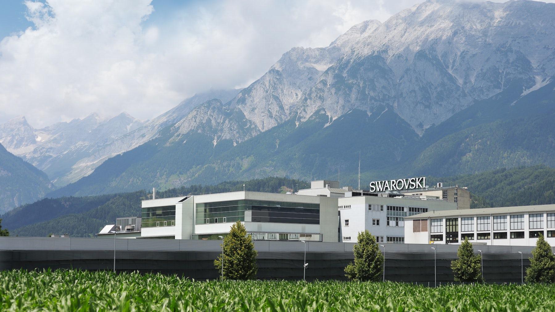 Swarovski factory in Wattens, Austria | Source: Courtesy