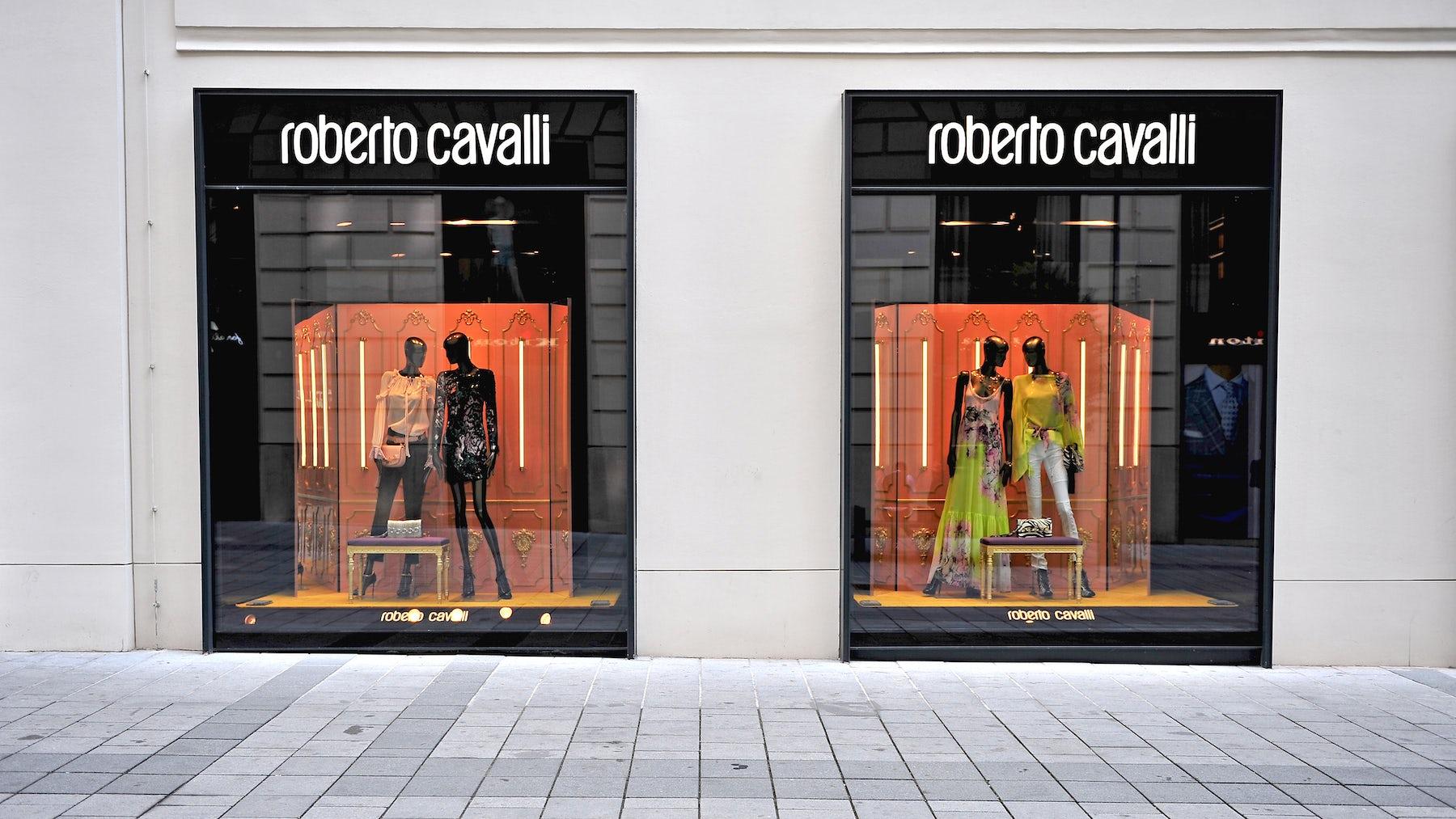 Roberto Cavalli Store | Source: Shutterstock