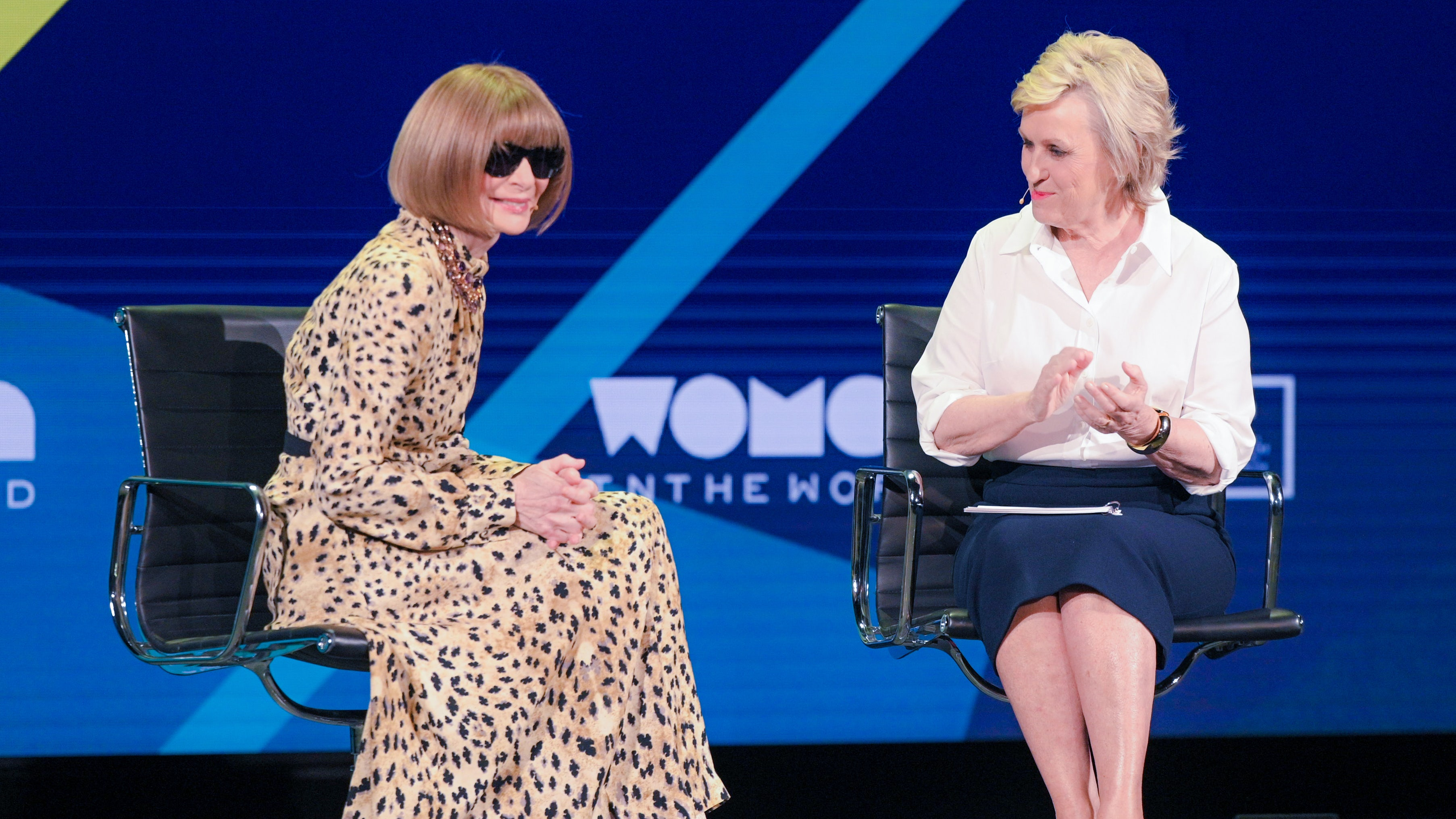 Anna Wintour interviewed by Tina Brown | Source: Tina Brown's Women in the World Summit