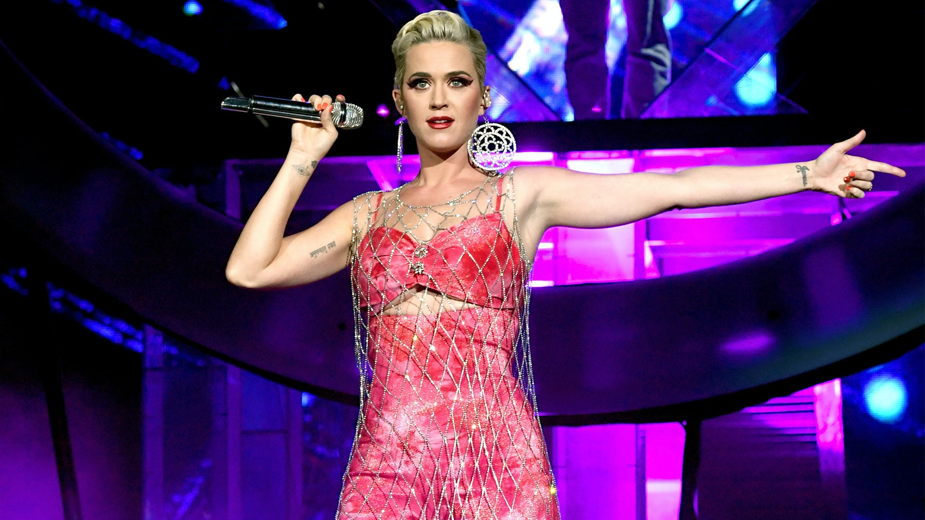 Katy Perry performs at Coachella in Area | Source: Getty Images
