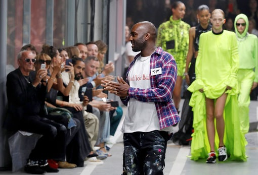 Virgil Abloh at Off-White's Spring/Summer 2019 show | Source: Getty Images