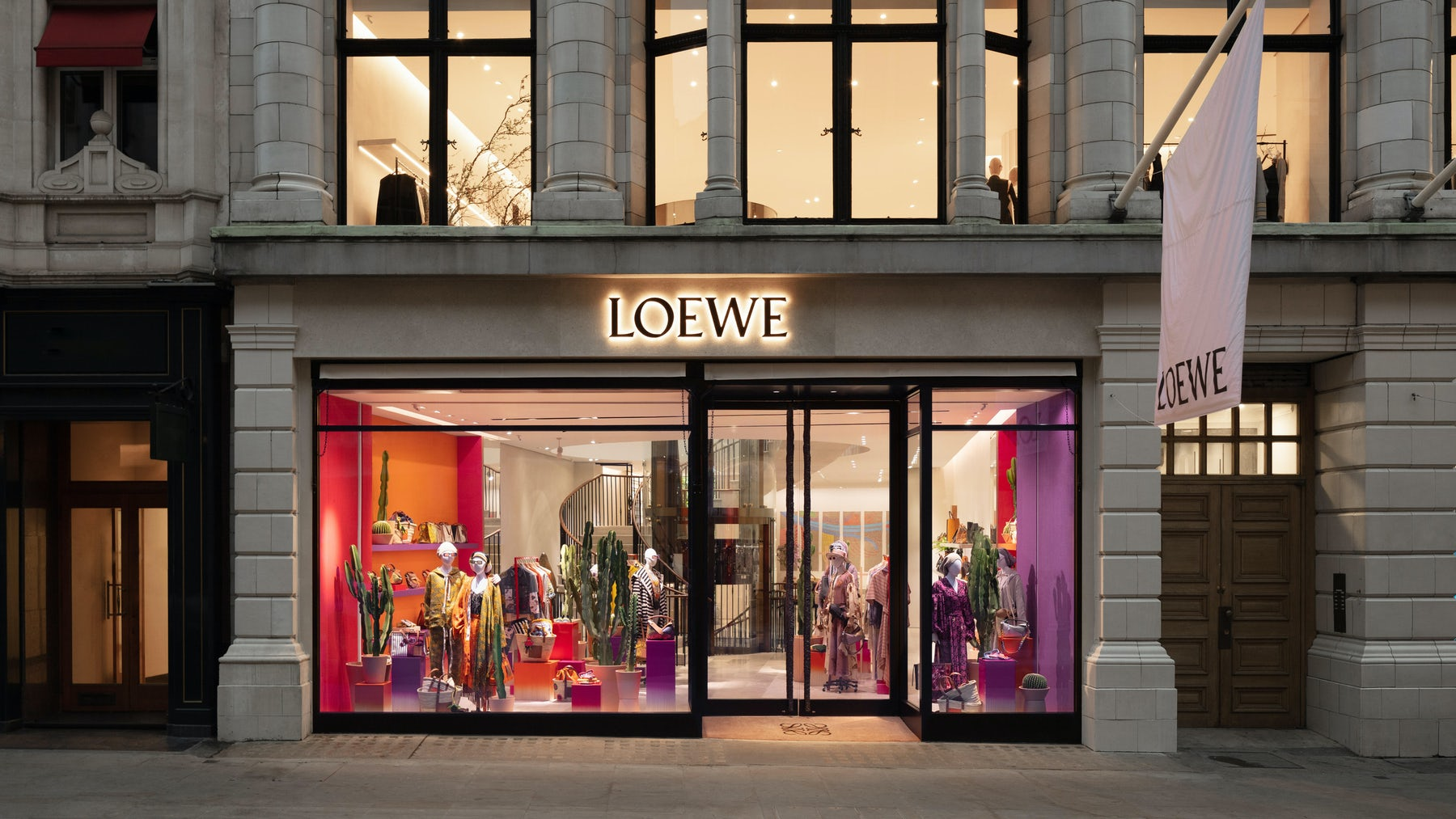 The new Loewe store on Bond Street | Source: Courtesy