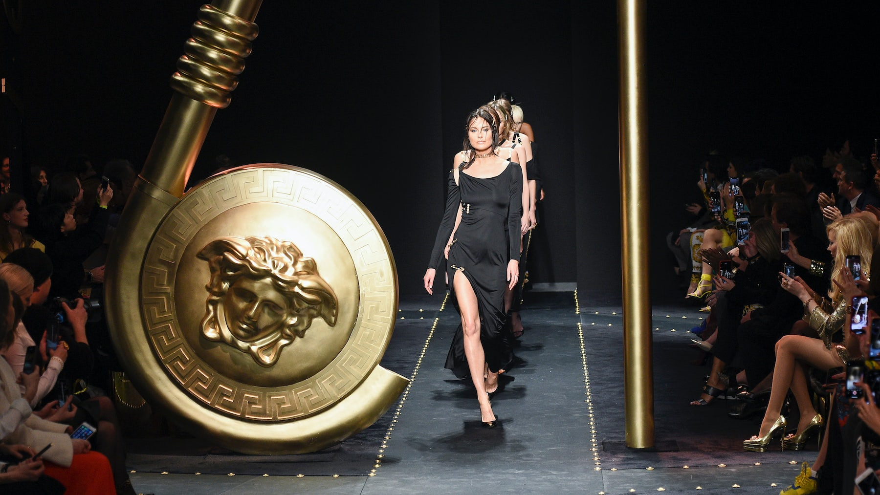 Capri Holdings-owned Versace AW19 show | Source: InDigital