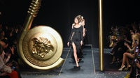 Capri Holdings-owned Versace AW19 show   Source: InDigital