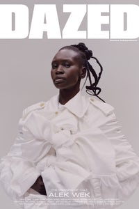 Alek Wek on Dazed | Source: Courtesy