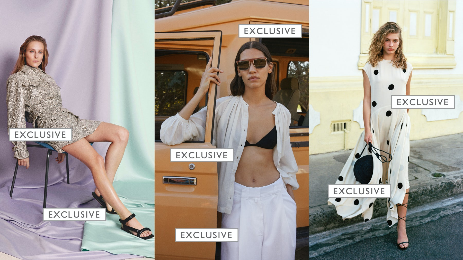 Nanushka exclusive capsule for MyTheresa, and exclusives by Doen and Cult Gaia for Net-a-Porter | Source: Courtesy