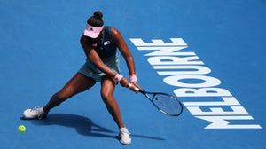 Grand Slam champion Naomi Osaka during her semifinal match at 2019 Australian Open in Melbourne Park | Source: Shutterstock