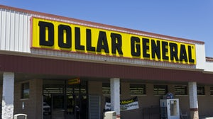 Outside a Dollar General Store | Source: Shutterstock