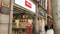"A store selling ""Supreme Spain"" product opened on one of Shanghai's busiest retail streets in March 